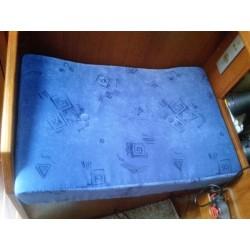 Coussin table à carte tissu